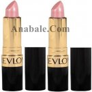 (2 Pack) Revlon Super Lustrous Pearl Lipstick, Twinkled Pink 413, 0.15 Ounce