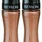 Revlon Colorstay Mineral Lipglaze 500 LASTING SHIMMER (PACK of 2 Tubes)