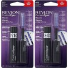 (2 Pack) Revlon CustomEyes Mascara, Blackened Brown 003 - 0.19 fl oz