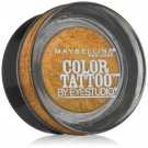 Maybelline New York Eye Studio Color Tattoo Metal 24 Hour Cream Gel Eyeshadow, Gold Rush, 0.14 Ounce