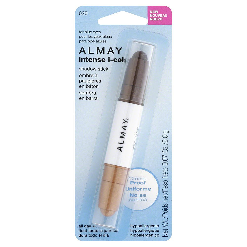 Almay Intense I Color Shadow Stick for Blue Eyes 020, 0.07 Ounce