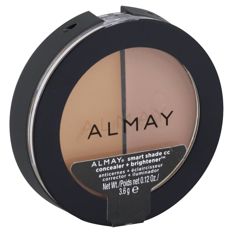 Almay Smart Shade CC Concealer & Brightener, Light/Medium (200) - 0.12 oz, 1 ea