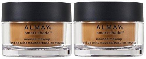 Almay Smart Shade Mousse Makeup, Medium/Deep 400 (Pack of 2)