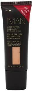 Iman Cosmetics Luxury Radiance Liquid Makeup, Clay 1