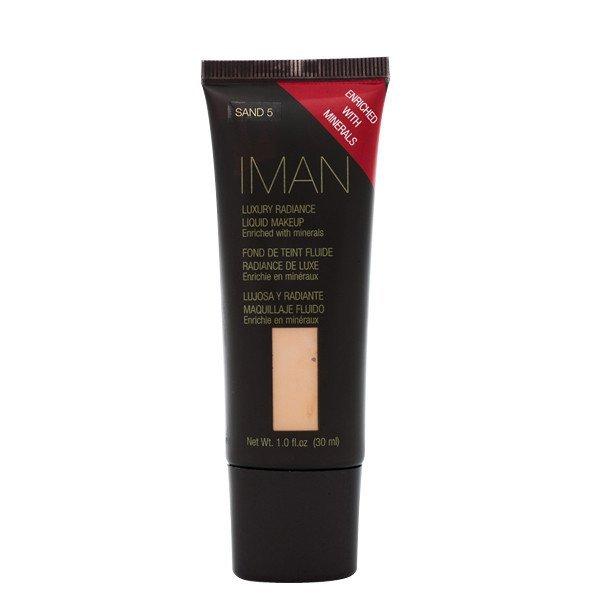 IMAN Luxury Radiance Liquid Makeup, Sand 5