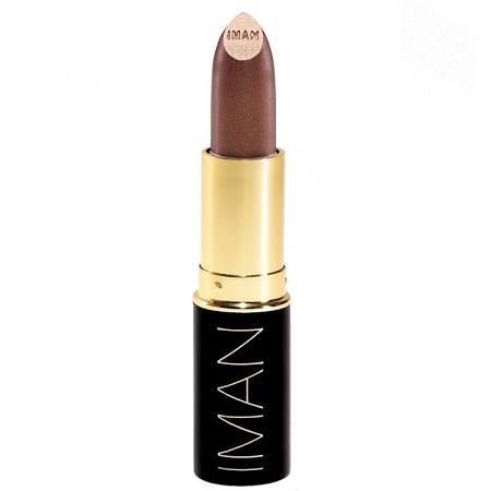 IMAN Luxury Moisturizing Lipstick, 0.13 oz (Color: 015 Citron)