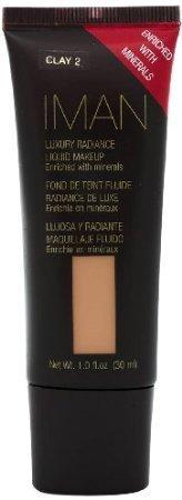Iman Cosmetics Luxury Radiance Liquid Makeup, Clay 2