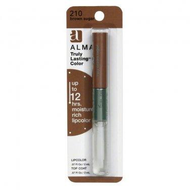 4 Pack - Almay Truly Lasting Colour Lip Shades-Brown Sugar (210)