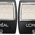 (2 Pack) L'Oreal Paris Wear Infinite Eye Shadow, 803 Seashell