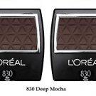 (2 Pack) - L'Oreal Paris Wear Infinite Eye Shadow Singles, Deep Mocha 830