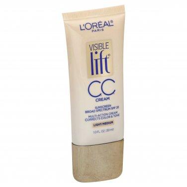 L'Oreal Visible Lift CC Cream, SPF 20, Light/Medium 180 - 1 fl oz