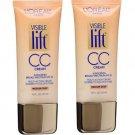 (2 pack) L'Oreal Paris Visible Lift CC Cream, Medium/Deep 181