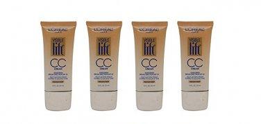 (Pack of 4) - L'Oreal Paris Visible Lift CC Cream, 181 Medium/Deep