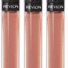 (3-Pack) Revlon Colorburst Lipgloss, Rosegold 026, 0.20-ounce
