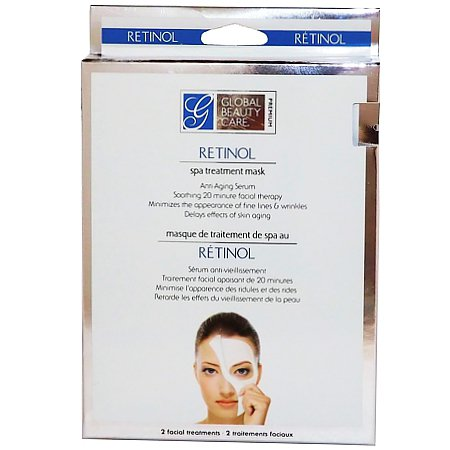 2 Treatment Mask Retinol SPA - By Global Beauty Care