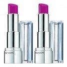 (2-Pack) Revlon Ultra HD Lipstick, Iris 850 - 0.1 Oz (3 g)