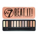 W7- Beat It Natural Nudes Eye Colour Palette - 12 shades in 1