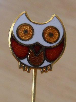 de Passille Sylvestre Enamel Owl Pin (very RARE)