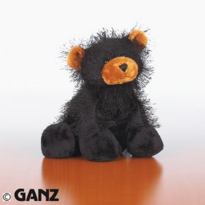 Webkinz Black Bear w/ NEW TAG Sealed Code
