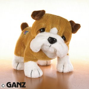 Webkinz Bull Dog w/ NEW TAG Sealed Code