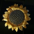 Sunflower Brooch Costume Jewelry