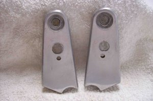 83 Honda Shadow VT500c  Headlight Stays Bracket pair
