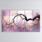 Landscape Art Modern Oil Paintings Huge Contemporary Wall Art Plum Blossom