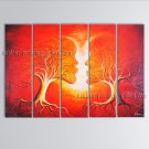 Abstract Art Modern Oil Paintings Huge Contemporary Wall Art Figure