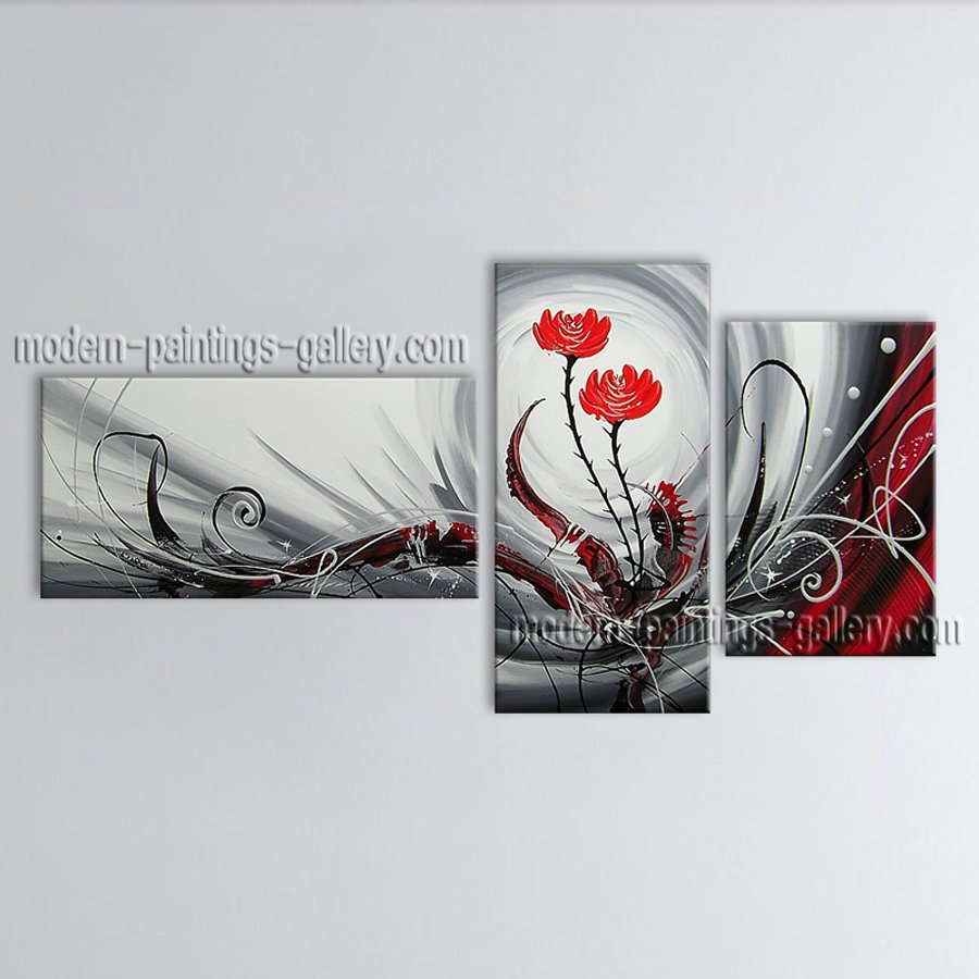 Hand-painted Beautiful Modern Abstract Painting Wall Art Interior Design