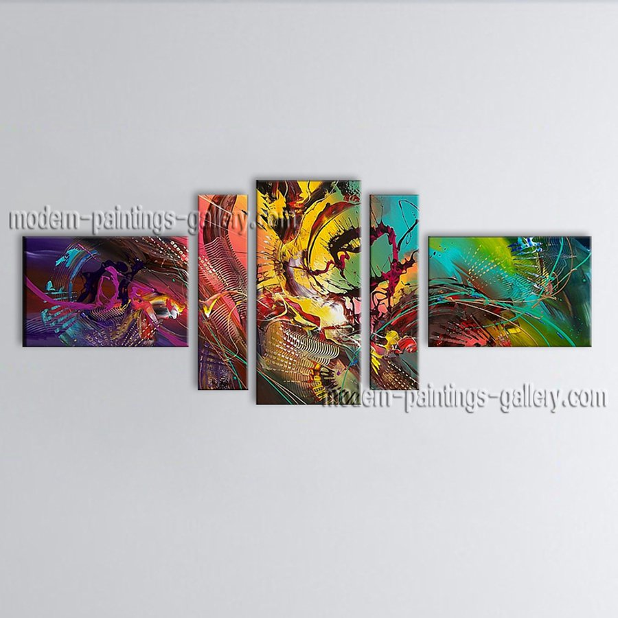 Hand Painted Large Modern Abstract Painting Wall Art Ready To Hang
