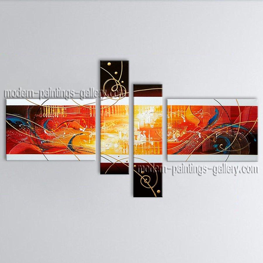 Handmade Artcrafts Large Modern Abstract Painting Wall Art Artwork Images