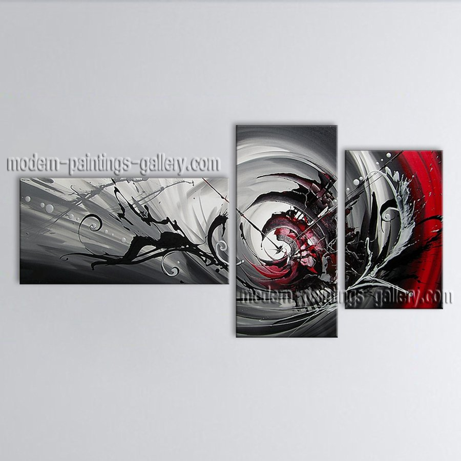 Hand Painted Elegant Modern Abstract Painting Wall Art Decoration Ideas