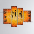 Handmade Large Modern Abstract Painting Wall Art Figure Interior Design