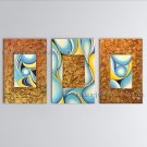 Hand-painted Elegant Modern Abstract Painting Wall Art Inner Stretched
