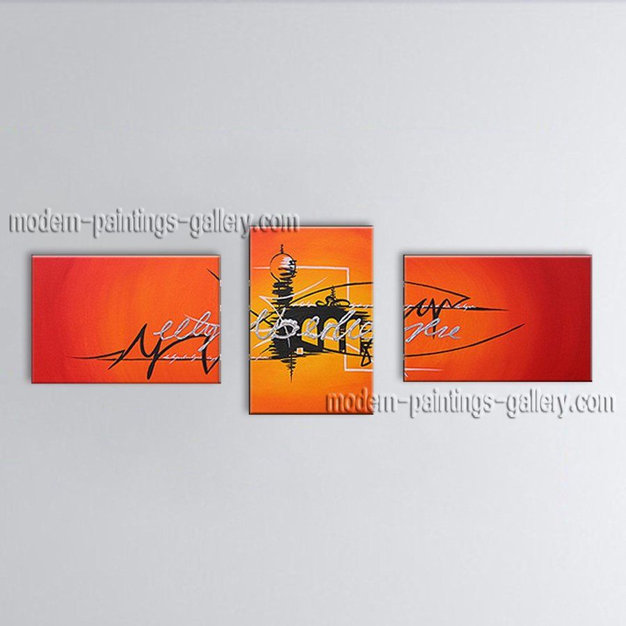Hand-painted Elegant Modern Abstract Painting Wall Art Artwork Images
