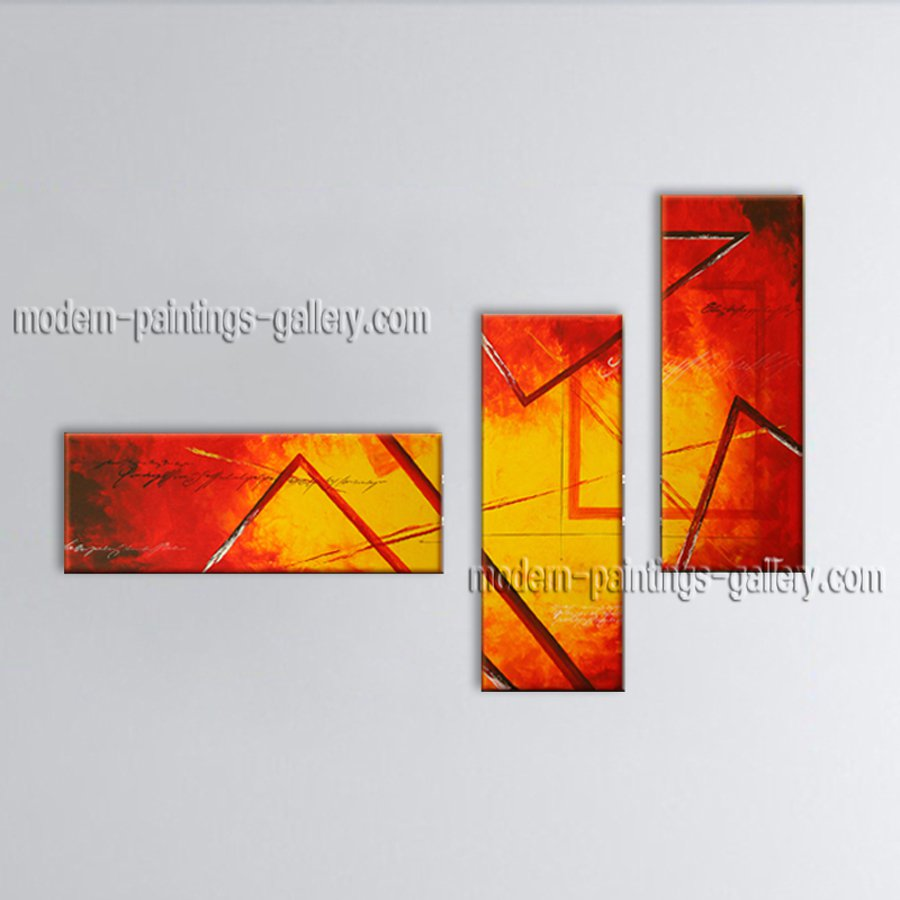 Hand-painted Beautiful Modern Abstract Painting Wall Art Decoration Ideas