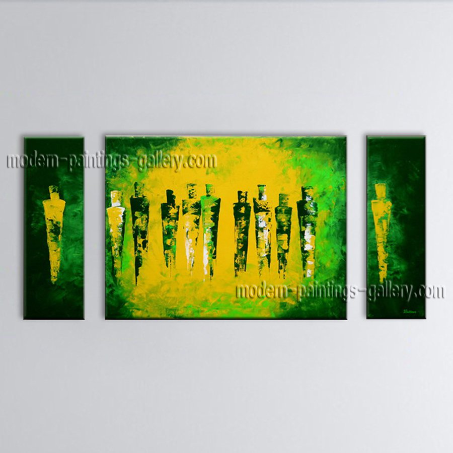 Hand-painted Stunning Modern Abstract Painting Wall Art On Canvas Artworks
