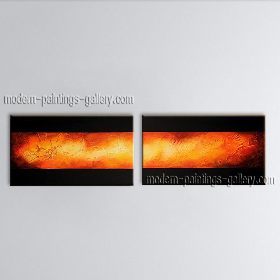 Hand Painted Astonishing Modern Abstract Painting Wall Art Gallery Wrapped