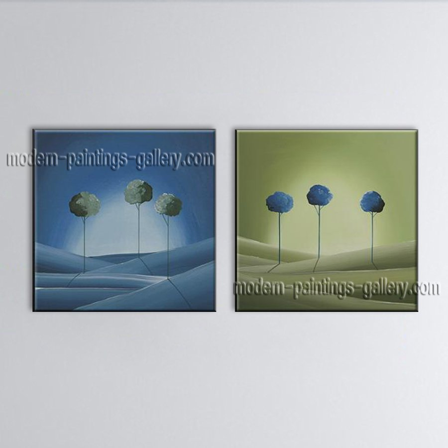 Handmade Artcrafts Amazing Modern Abstract Painting Wall Art Oil On Canvas