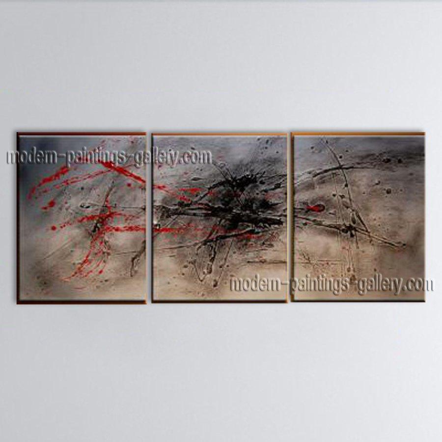 Handmade Artcrafts Stunning Modern Abstract Painting Wall Art Inner Framed