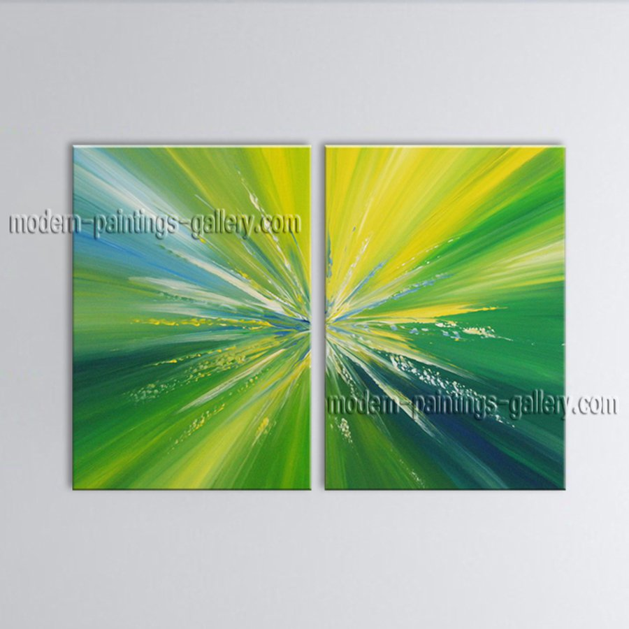 Hand-painted Stunning Modern Abstract Painting Wall Art Oil On Canvas