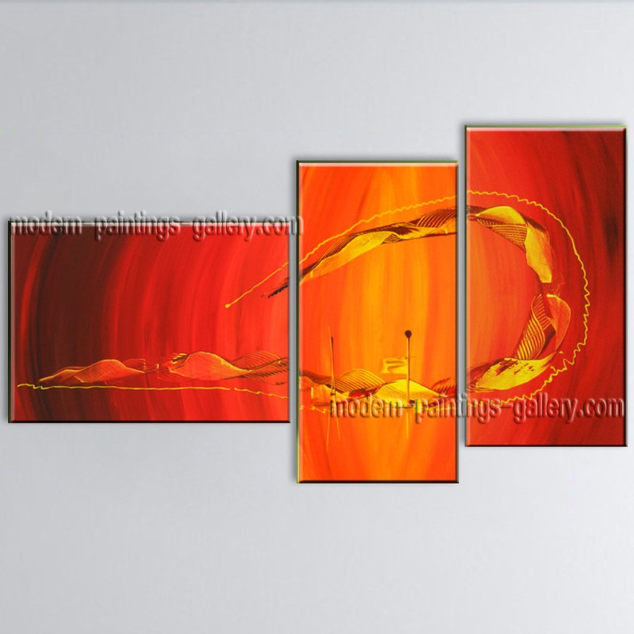 Hand-painted Elegant Modern Abstract Painting Wall Art Decoration Ideas