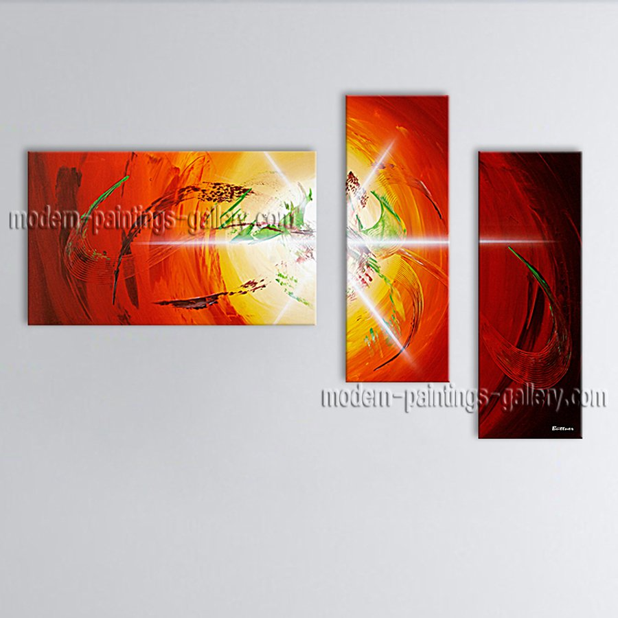 Hand-painted Elegant Modern Abstract Painting Wall Art Artist Artworks