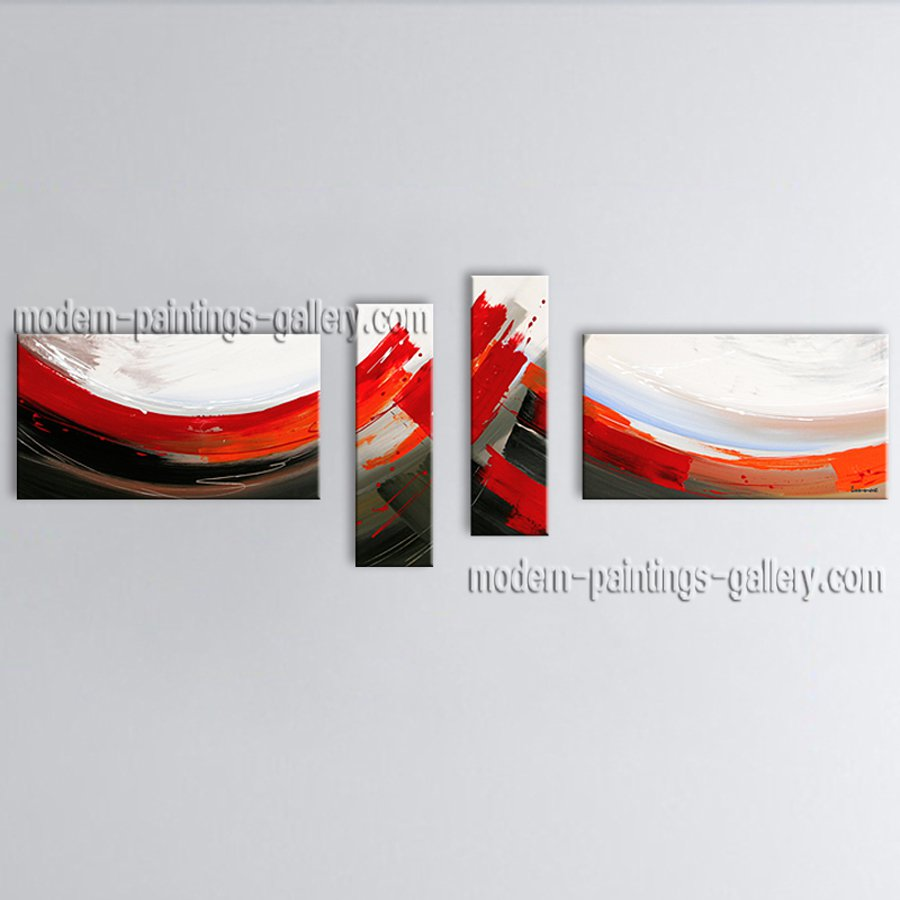 Hand Painted Large Modern Abstract Painting Wall Art Contemporary Decor