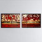 Handmade Astonishing Modern Abstract Painting Wall Art Contemporary Decor