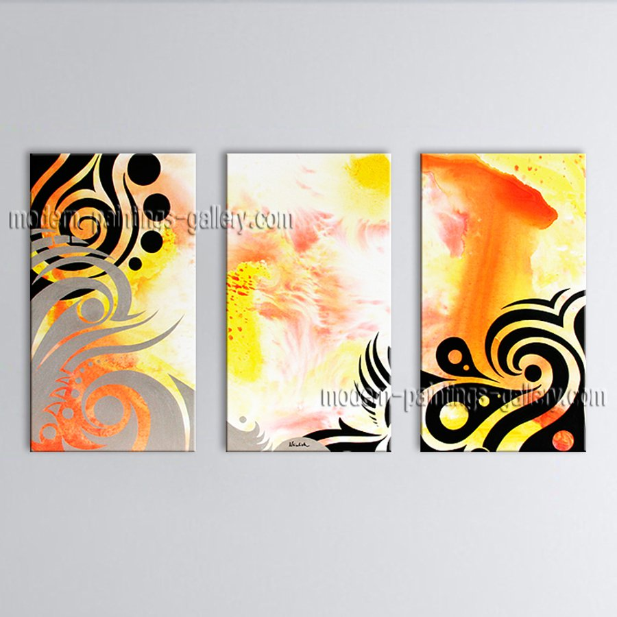 Hand-painted Stunning Modern Abstract Painting Wall Art Contemporary Decor