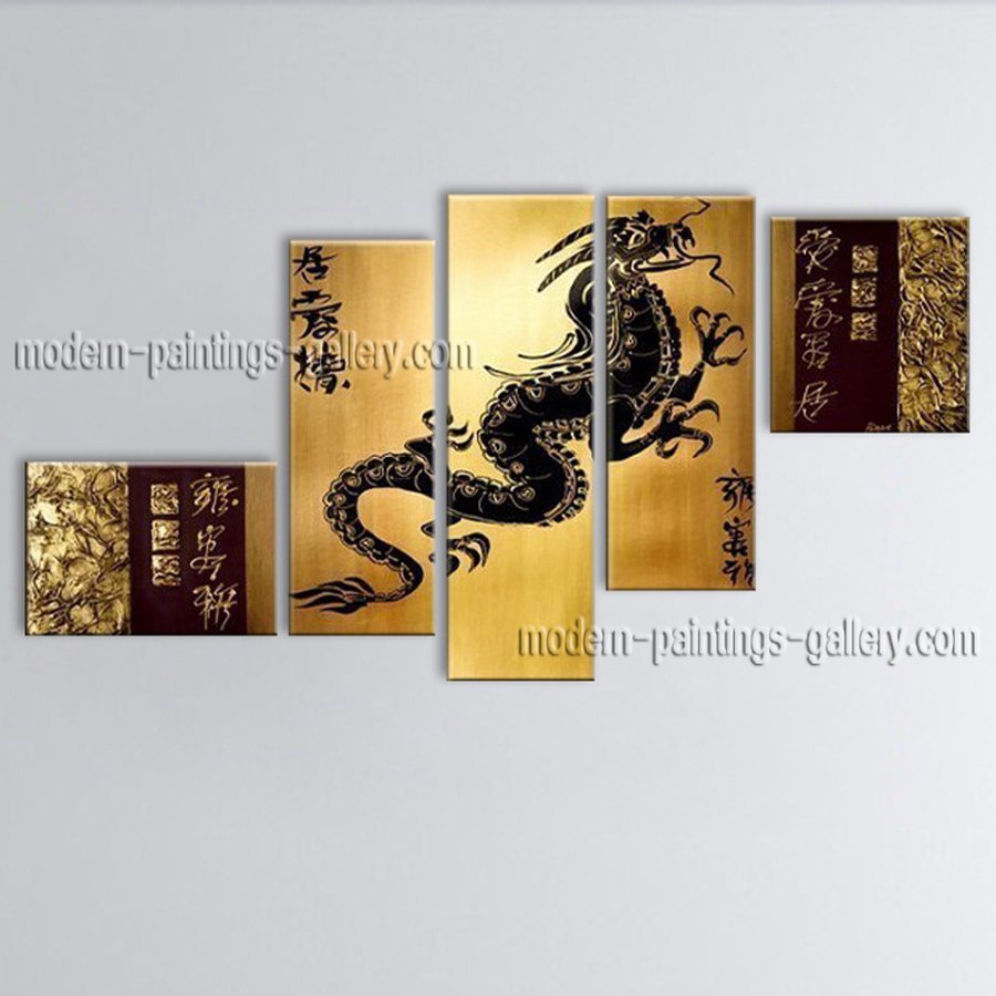 Hand-painted Large Feng Shui Zen Art Contemporary Painting For Home Design