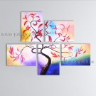Large Contemporary Wall Art Floral Painting Plum Blossom Inner Stretched
