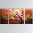 Elegant Contemporary Wall Art Floral Cherry Blossom Contemporary Decor