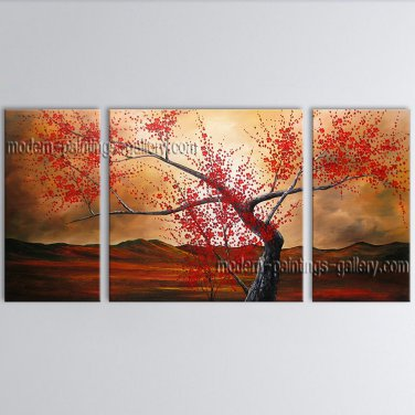 Elegant Contemporary Wall Art Floral Cherry Blossom Contemporary Decor